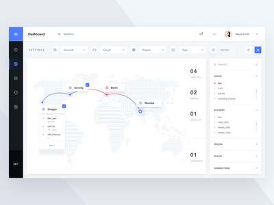 Goods_Delivery tracker dashboard search location map web ux ui delivery goods