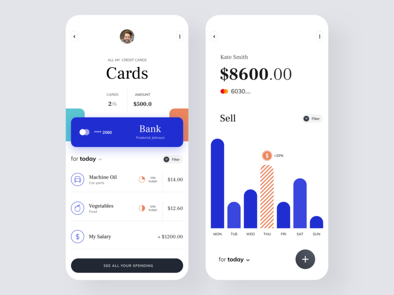 Fintech App cryptocurrency crypto wallet crypto currency ux ui mobile wallet typography product design fintech finances credit card
