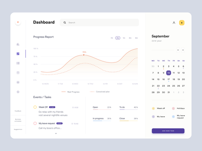 Dashboard ux ui timeline schedule management crm calendar product design web design platform graphics dashboard