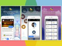 Screenshots for iOS Meditation App