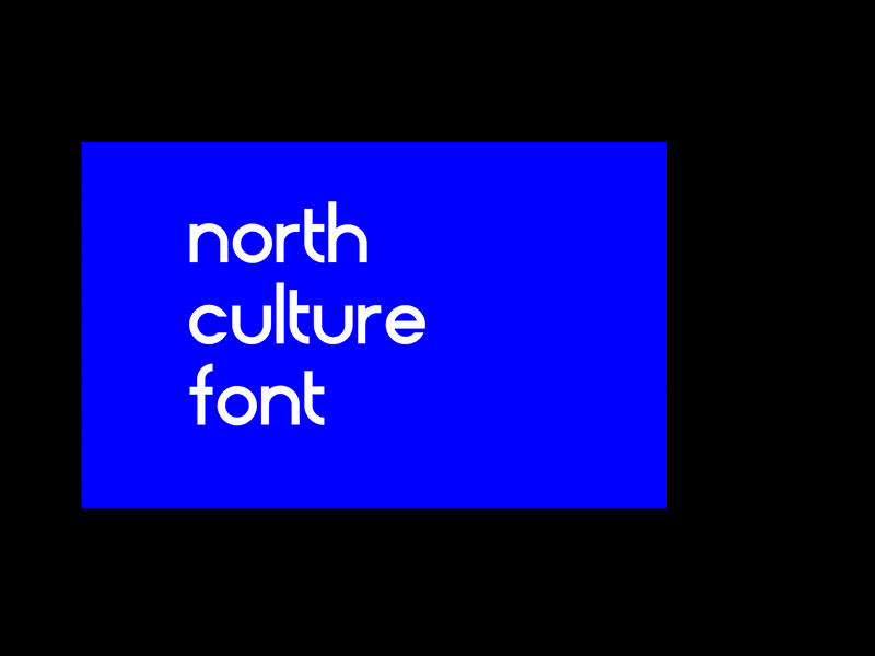 North Culture - Free Font typography graphic design font
