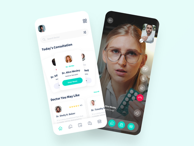 Doctor Live Streaming App ux design ui design mobile app clinic app hospital app patient app schedule app medicine app medical app doctor appointment doctor app appointment hospital health healthcare medicine doctor patient schedule medical