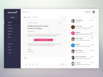 E-Mail UI Concept