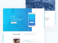 Themeunix : App Landing Page