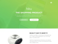 Hiku landing page