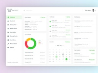 Dashboard : Event Manager