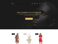 E commerce landing page
