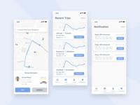 Taxi App UI Concept