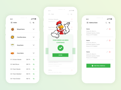 Big Bite iOS UI Kit mobile application marketing xd template download order delivery details ux ui animation user interface transitions workflow food app exploration mobile app exploration ios app design interactive design prototype easy interest search concept user experience