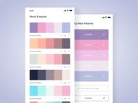 Color Palettes  App