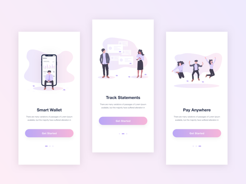 Financial App sketch adobe xd onboarding screen illustration usability user experience design login signup splash screen online bank security transitions credit debit card mobile bank mobile money reporter reporting dashboard finance finance app