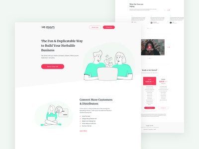 Email Marketing Agency popular modern trending design clean ui ux typography business b2b services agency landing page website interface template email marketing agency user interface homepage user experience designer commercial marketing site illustration minimal ui design email inbox message 2019 trend ui ux