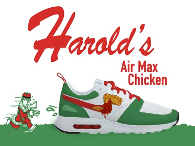 "Air Max Day 2020 - ""Harold's Chicken"" nike air max chicago chicken nike air max"