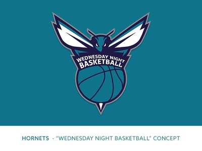 "Charlotte Hornets ""WNB"" Logo Concept"