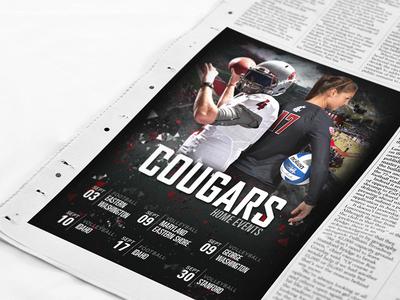 Washington State Athletics Newspaper Ads