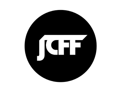 JCFF Logo simple clean sports juco football logo
