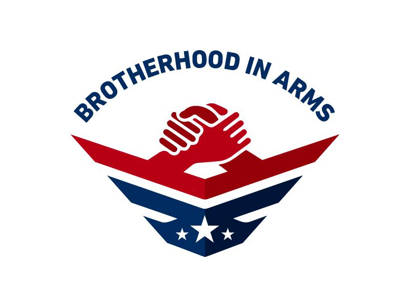 Brotherhood In Arms military logo brotherhood