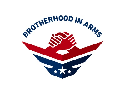 Brotherhood In Arms military logo brotherhood