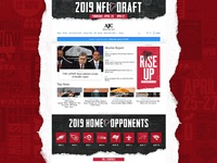 '19 Falcons NFL Draft AJC Takeover