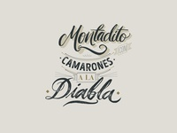 Lettering recipes