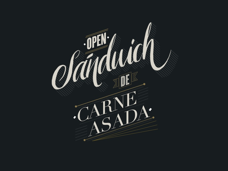 Lettering recipes by Anibal Pharrell on Dribbble