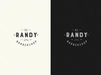 Randy Barber shop Logo