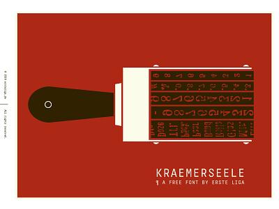 kraemerseele typeface font