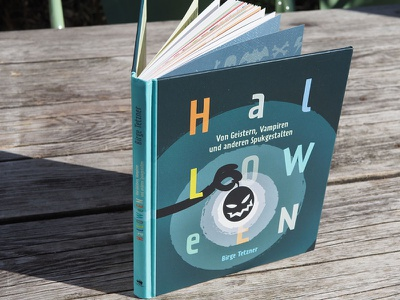 HALLOWEEN Book editorial design print illustration