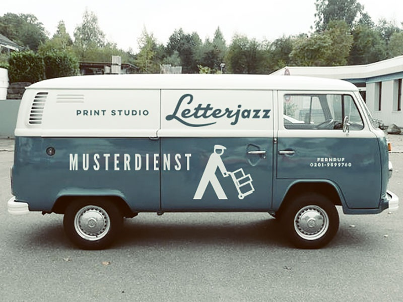 Letterjazz T2 by Dirk Uhlenbrock on Dribbble