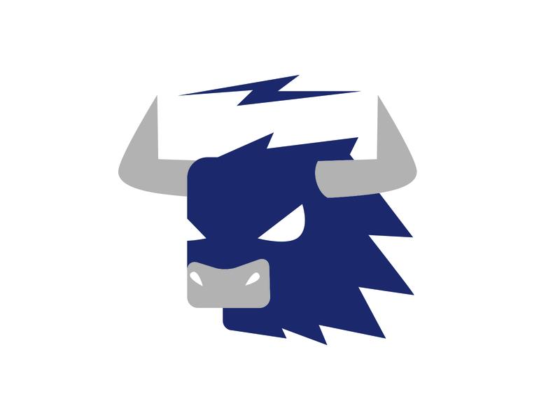 bullock icon pictogram illustration logo