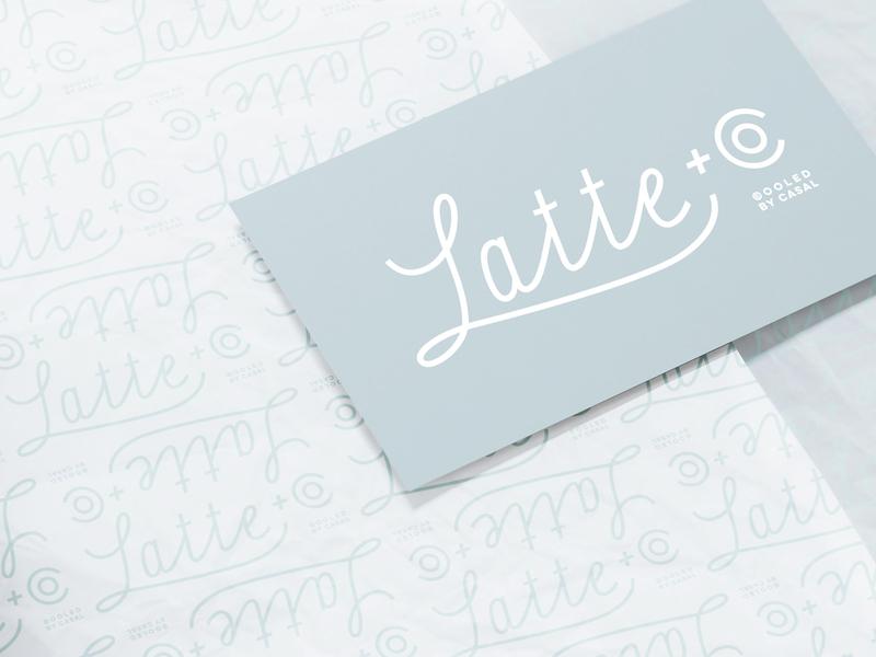 Latte + Co graphic design logo