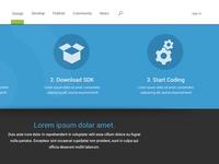 Web page in progress
