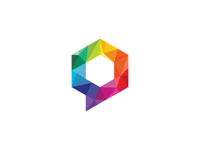 Hushflow – symbol hushflow polygon square colors talk abstract