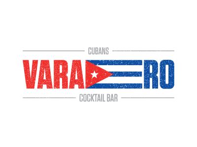 Varadero | Cubans Cocktail Bar varadero bar cocktails cubans red blue flag