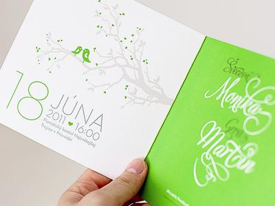 pompom – wedding invitation pompom story stories paper handmade wedding invitations black green