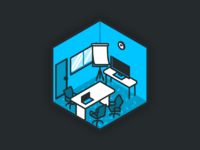 Shootroom dribbble illustrations rooms 02