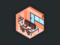 Shootroom dribbble illustrations rooms 01
