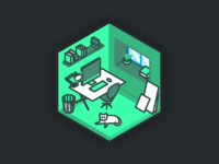 Shootroom dribbble illustrations rooms 03