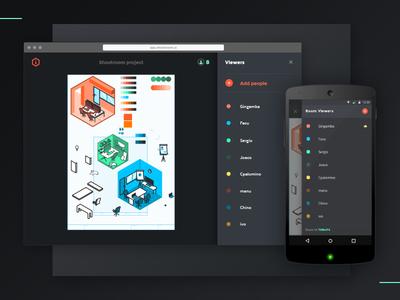 Shootroom App Preview aerolab ios desktop ui ux mobile android shootroom