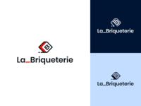 La Briqueterie – Logotype coworking art direction branding design brand identity brand logo design logotype design logotype logo design branding