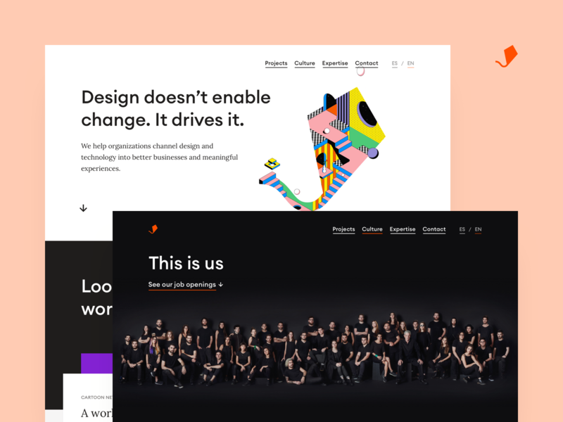 Aerolab – Web 2019 brand strategy agency ui interface web web design website branding brand art direction brand identity layout landing aerolab