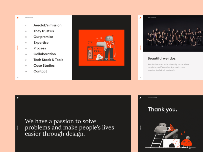 Aerolab – Presentation deck brand strategy presentation template presentation layout presentation design keynote presentation keynote template keynote keynote design presentation deck branding brand art direction brand identity aerolab