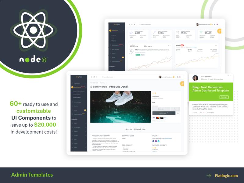 React Node Article ecommerce article development dashboad node react illustration graphic design design