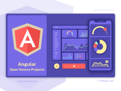 Angular Open Source Projects open source angular mobile ui  ux admin template dashboad blog article ui illustration graphic design design