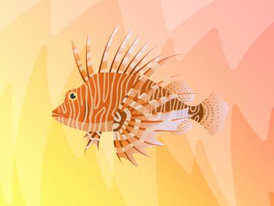 Gillustrations - Lion Fish
