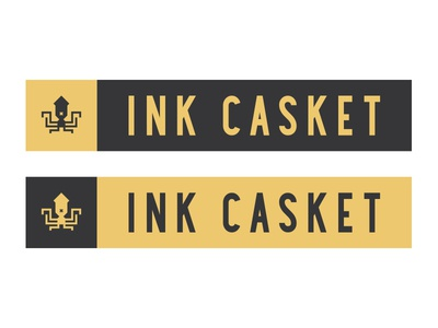 Ink Casket - Logo And Text