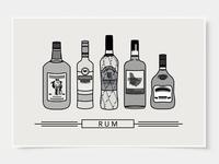 Rum - Bar Poster