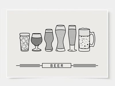 Craft Beer - Bar Poster