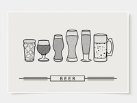 Craft Beer - Bar Poster