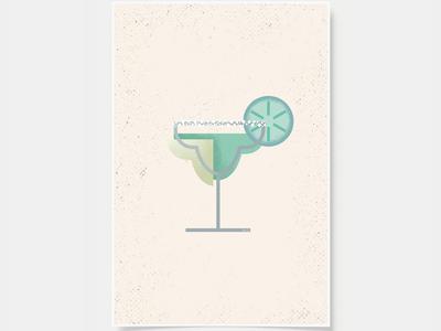 Margarita - Cocktail Print